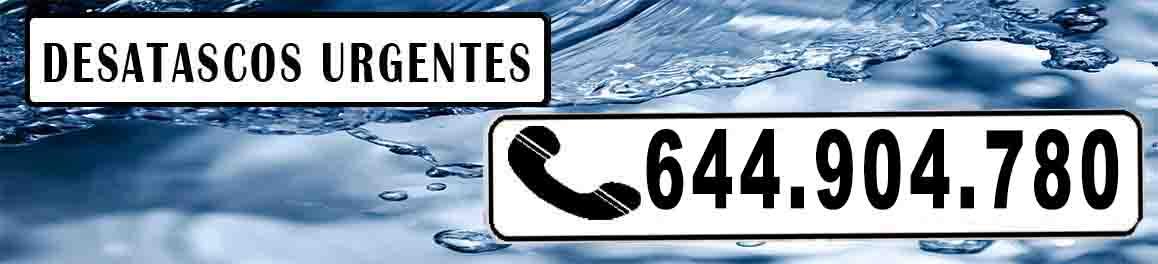 Desatascos en Castellon de la Plana Urgentes
